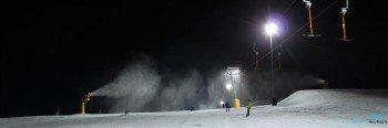 Dank der Flutlichtanlage kann Mittwoch und Samstag bis 21 Uhr Ski gefahren werden