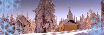 Die Winterlandschaft in Hinterschmiding