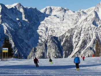 Hinterstoder bietet ein schönes Bergpanorama