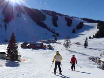 Die Hutterer Böden sind Dreh- und Angelpunkt des Skigebiets