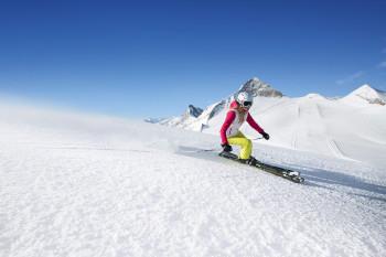 Skivergnügen am Ende des Tuxertals verspricht der Hintertuxer Gletscher....