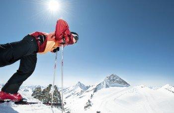 Insgesamt bietet das Skigebiet fast 60 Pistenkilometer.