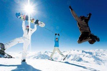 Das Skigebiet liegt auf einer Höhe von 1500 m bis 3250 m.