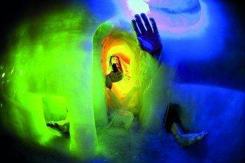 Der Tuxer Riese erwartet alle Interessierten im Natur Eis Palast.