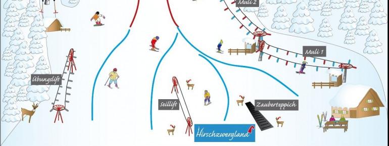 Pistenplan Hirschberg Kreuth