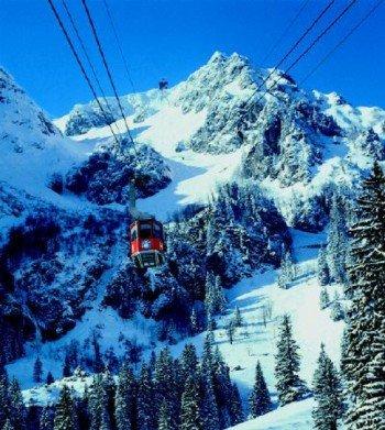 Hochfelln-Seilbahn Bergen