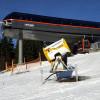Die neue Bergstation der Gondelbahn am Reischlberg.