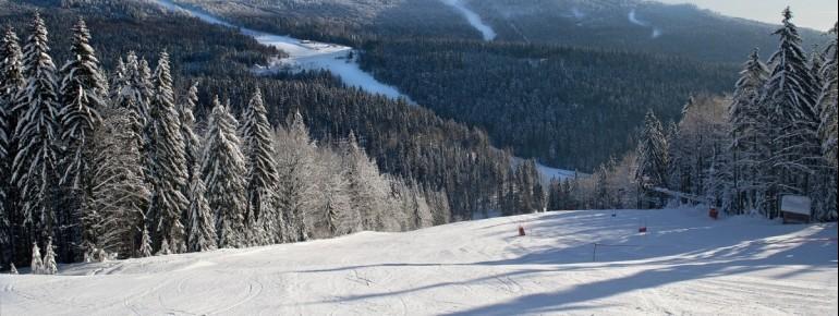 Auch fortgeschrittene Skifahrer kommen in Hochficht auf ihre Kosten.