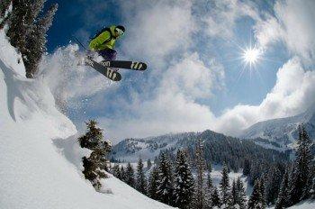 Im freien Gelände des Skigebiets Hochkar haben Freerider viel Spaß!