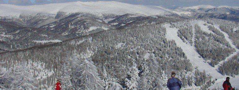 Das Skigebiet eignet sich ideal für Familien.