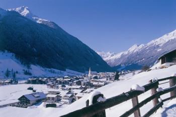 Neustift ist der am meisten besuchte Ort im Stubaital. Von dort gelangt man ins Skigebiet am Elfer. © TVB Stubai