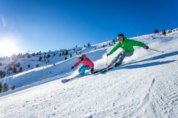 Abfahrtsspaß im Skigebiet Hochzillertal