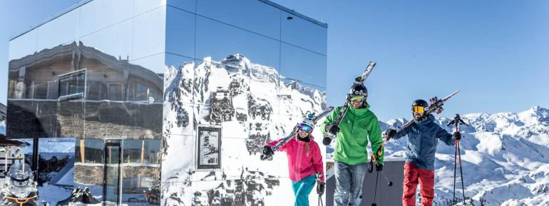 Das Skigebiet Hochzillertal liegt zwischen 600 und 2.500 Metern.