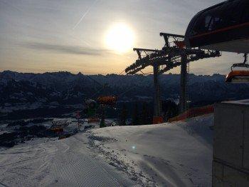 Am Weiherkopf startet die FIS-Slalomstrecke