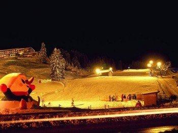 Montag und Mittwoch werden die Flutlichter für Skifahrer eingeschaltet. Am Samstag zudem für die Rodler.