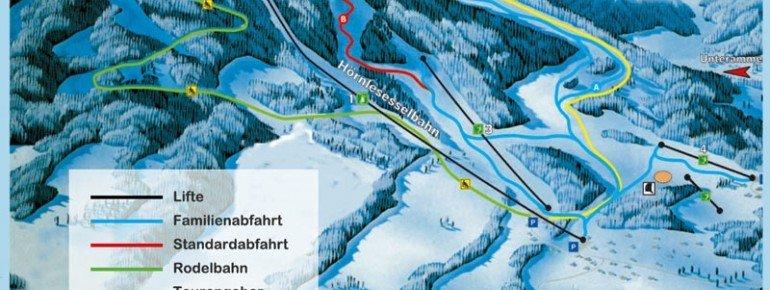 Pistenplan Hörnle Bad Kohlgrub