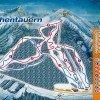 Pistenplan Skigebiet Hohentauern in der Steiermark, Österreich