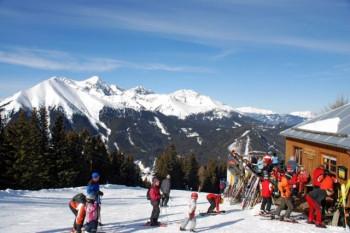 11 Pistenkilometer erwarten die Wintersportler in Hohentauern.