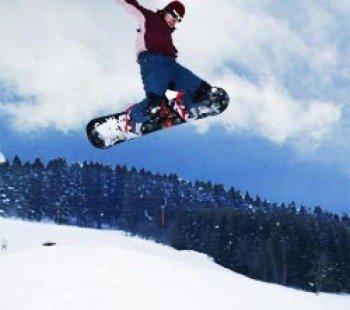 Snowboard Fun in Holzhau