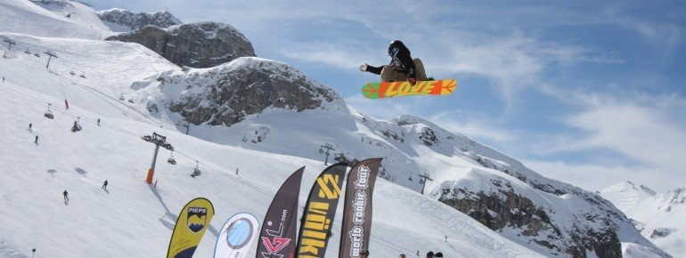 Air Time im Ischgl Snowpark