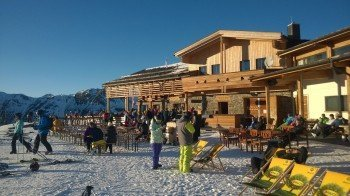 Wunderschöne Sonnenterrasse in geschützter Lage: Die Vider Alp unterhalb der Idalp