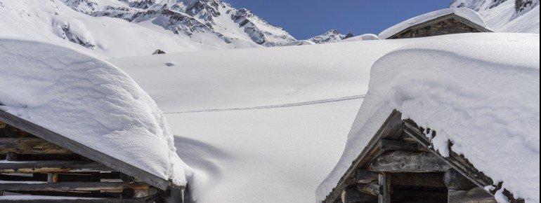 Im Februar 2016 lagen in Ischgl am Berg durchschnittlich 92 cm Schnee