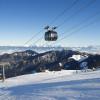 Auch eine moderne Standseilbahn gibt es im Skigebiet.