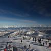 Einen tollen Panoramablick hat man von der Bergstation am Gipfel, wo sich auch ein 360-Grad-Restaurant befindet.