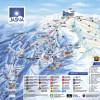 Pistenplan Skigebiet Jasná.