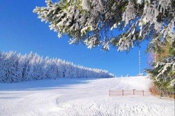 Die Piste am Jauerling eignet sich auch für ungeübte Skifahrer.