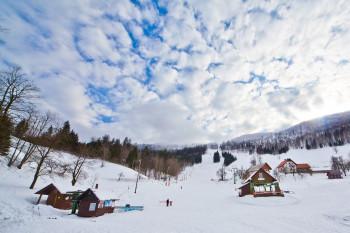 Das Skigebiet Javornik bietet sieben Pistenkilometer.