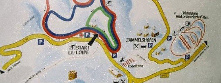 Pistenplan Jammelshofen bei Kaltenborn