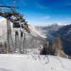 Mit der Karwendel-Bergbahn geht es von Pertisau hinauf auf den Zwölferkopf.