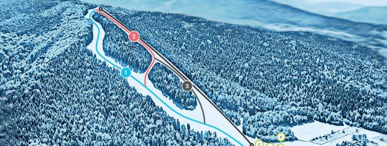 Pistenplan Kasina Wielka Snieznica