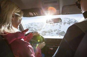 Für alle Wintersportler, die mit dem Auto anreisen entfällt die Maut auf der Kaunertaler Gletscherstraße.