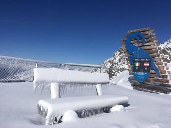 Der viele Neuschnee machts möglich: Vorzeitiger Saisonstart am Kaunertaler Gletscher.