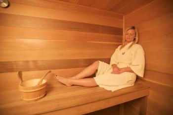 Entspannung pur: Saunasessions im Killington Grand Spa.