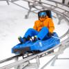 Die 1,5 km lange Rodelbahn Beast Mountain Coaster dreht und windet sich durch die Wälder Killingtons und ist ein Riesenspaß für Klein und Groß.