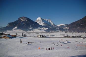 Das Skigebiet Kirchdorf in Tirol ist sehr gut für Familien mit Kindern geeignet.