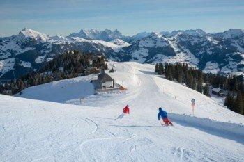 Wundervolle Abfahrten kennzeichen das gesamte Skigebiet