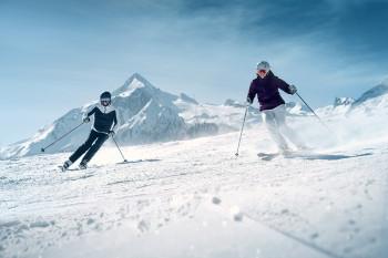 Ski-in Ski-out zum und vom Gletscher
