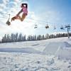 Freestyler freuen sich über den Snowpark an der Skipiste Pungart.