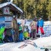 Vor allem bei Familien ist das Wintersportgelände am Kornberg eine beliebte Anlaufstelle.
