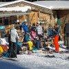 Für den kleinen Hunger zwischendurch oder einfach nur eine Pause bei einem Heißgetränk wird bei der Skihütte gestoppt.
