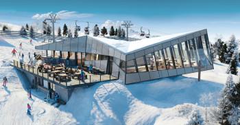 Das Panorama-Restaurant Eagle wurde im Dezember 2020 eröffnet.