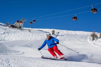 Über 40 Pistenkilometer erwarten Wintersportler am Kreischberg.