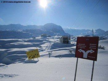 Blick auf die Talstation der Dachstein Krippensteinbahn III!