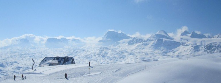 Ausblick von der Bergstation!