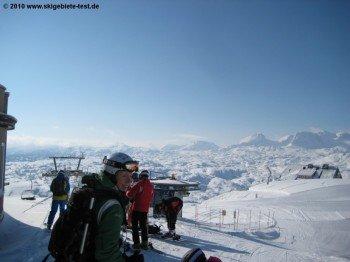 Ausblick von der Bergstation (2100m)!