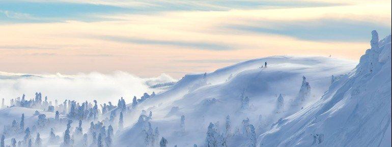 Kvitfjell liegt nicht weit von der Olympiastadt Lillehammer entfernt.